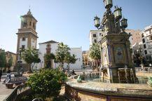 La Plaza Alta in Algeciras.