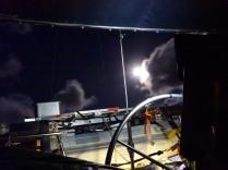 Der Vollmond schenkt uns während der Nacht Licht.