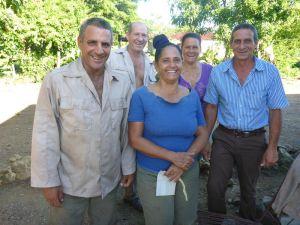 Ramiro mit seiner Familie.