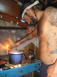 David unser italienischer Chefkoch.