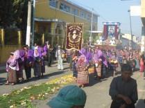Prozessionsmarsch in der Osterzeit.