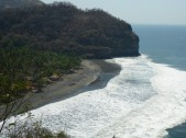 Kleine Dörfer am Pazifik.