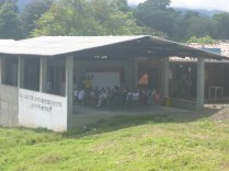 Das offene Klassenzimmer.