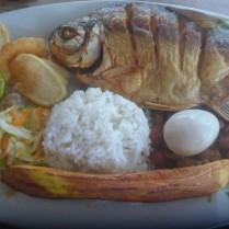 Die kolumbianische Kueche ist exzellent und in regelmaessigen Abstaenden findet man in den Doerfern Essen.
