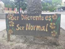 Anders zu sein ist normal.
