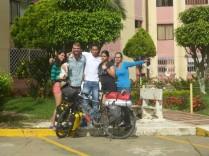In Cali finde ich bei Andres und seiner Familie fuer einige Tage eine Unterkunft.