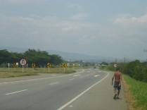 Die letzten Kilometer im Caucatal bevor es in die Bergwelt nach Pasto geht.