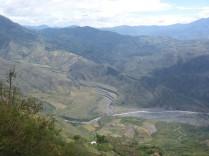 Die Bergwelt vor Pasto ist sehr sehenswert.